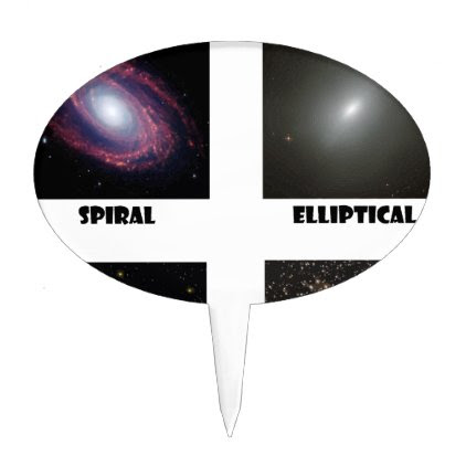 types of Galaxies3 Cake Topper