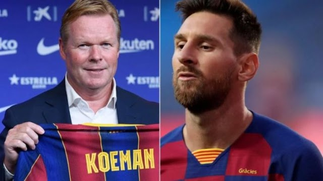 JUST IN!! Lionel Messi & Ronald Koeman Fight Over Changes To Barcelona Team