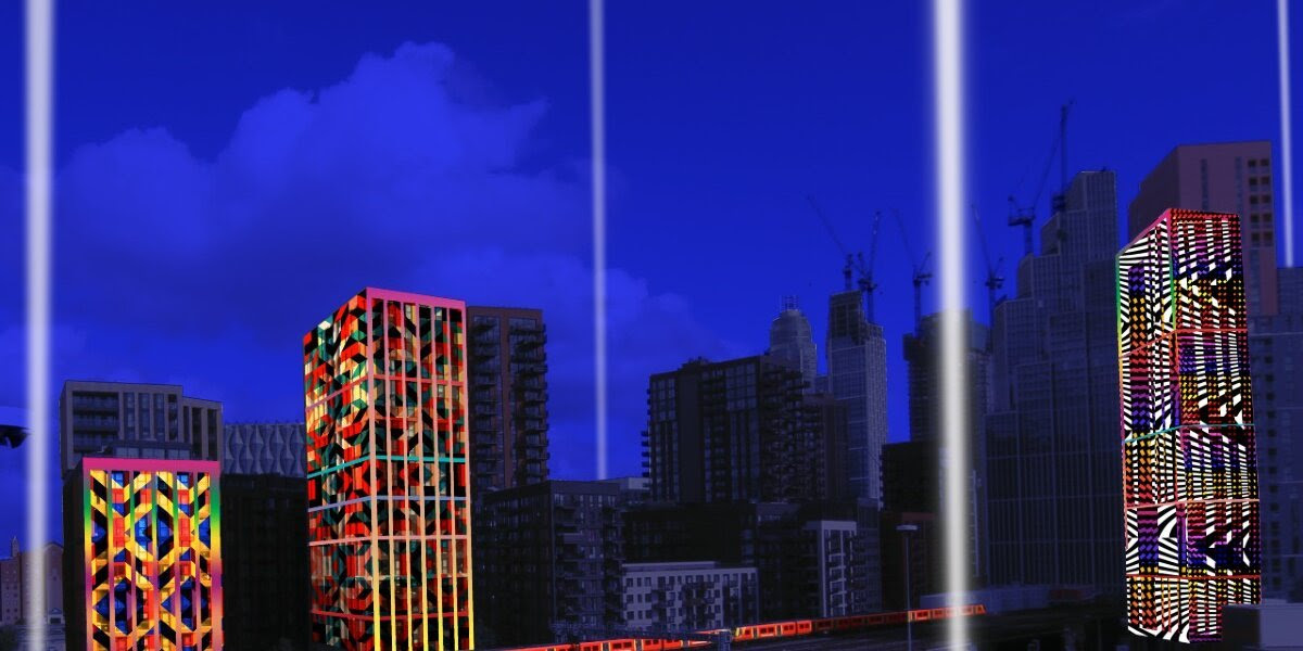 Installation to project beams of light into Battersea sky | This Is Local London