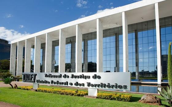 Tribunal de Justiça do Distrito Federal (Foto: divulgação/TJDFT)
