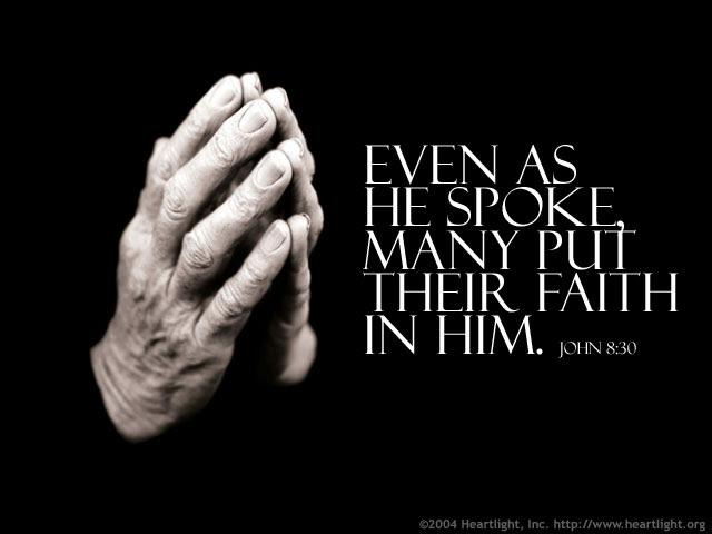 John 8:30 (32 kb)