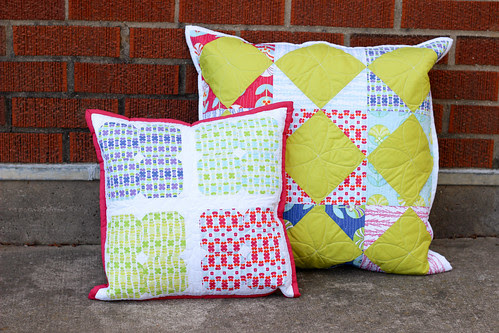Color Me Retro Pillows by Jeni Baker