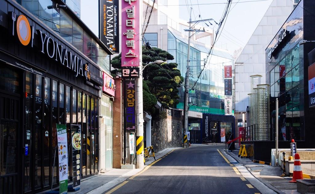 Background Jalan Kota Hd - Arini Gambar