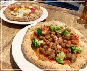 品川でピザを食べたり