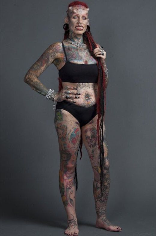 Real Life Mexican Vampire Lady Now Permanent Wax Figure