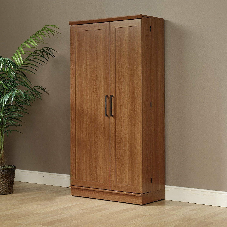 Kitchen Storage Cabinets Extra Large Wood Pantry Food