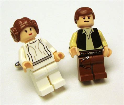 Full body Hans Solo and Princess Leia LEGO (possible