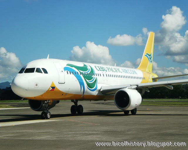 Cebu Pacific Airline in Puerto Princesa Airport