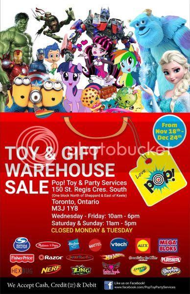 Pop! Toy Warehouse Sale Toronto