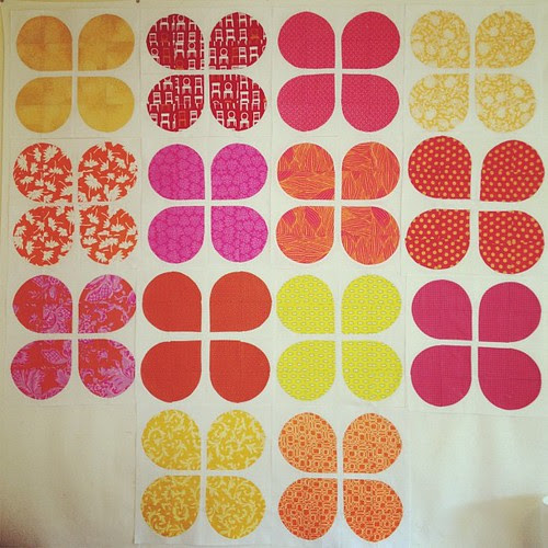 Blocks from my bee ladies have been coming in... Love this quilt already!