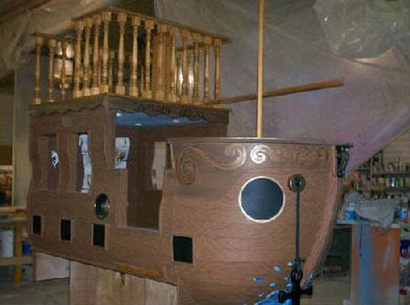 Pirate Ship Bed For Your Pro-Active Kids