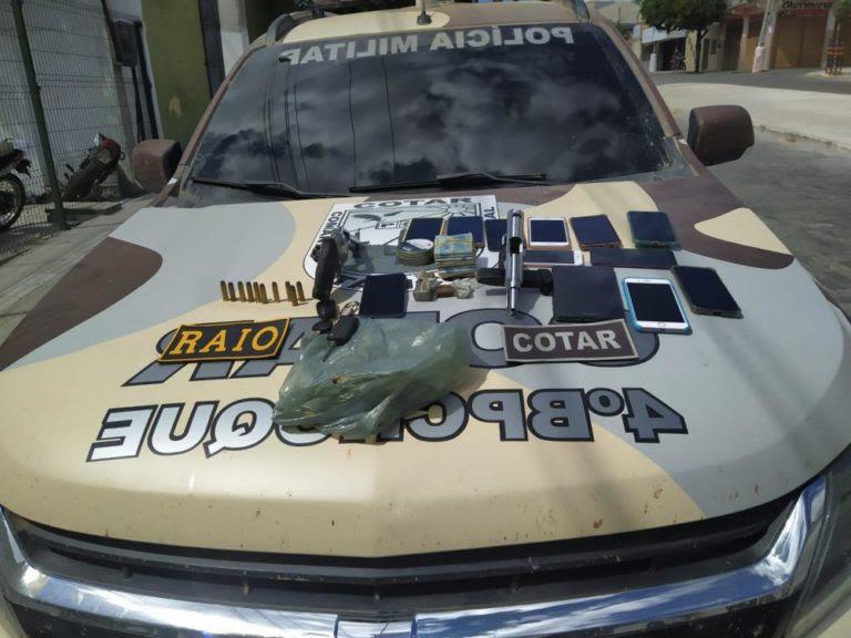 Criminosos armados são presos durante operação conjunta do Raio e Cotar, em Boa Viagem