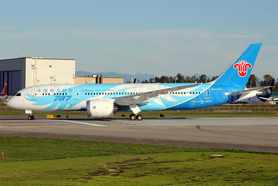 China Southern Airlines Boeing 787-8 Dreamliner B-2726 (msn 34924) PAE (Nick Dean). Image: 913646.