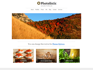 Photolistic Free WordPress Theme