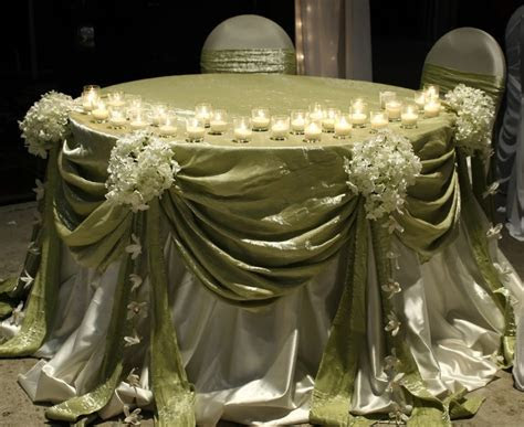 sweetheart and head table decoration ideas