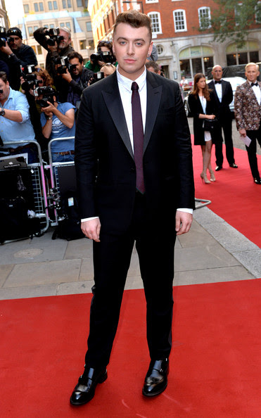 Sam Smith attends the GQ Men of the Year awards at The Royal Opera House on September 2, 2014 in London, England.