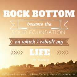 Quotes About Hitting Rock Bottom Inspirational