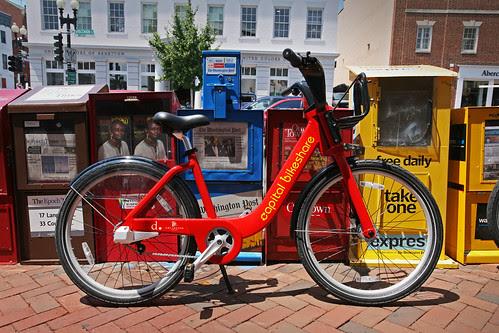 Capital Bikeshare in the City