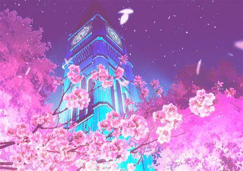im dee glow anime scenery anime art aesthetic anime