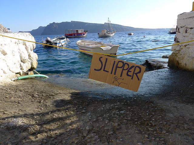 warning: SLIPPER