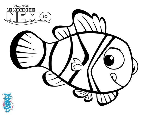Dibujos Para Colorear Buscando A Nemo Eshellokidscom