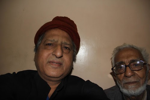 Liaqat Ali Sab From Karachi  And Me At The Hotel by firoze shakir photographerno1