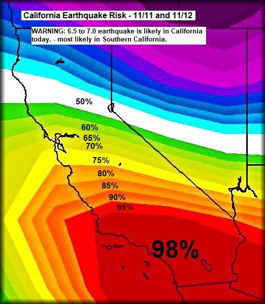 2 σεισμοί έπληξαν την Καλιφόρνια και τη Νεβάδα μέσα σε δευτερόλεπτα στις 13 Νοεμβρίου 2020