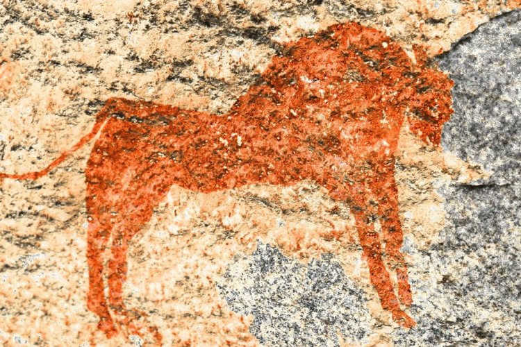 Kondoa rock paintings, Tanzania
