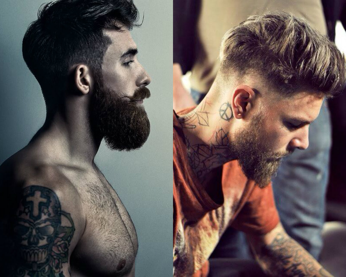 cool undercut with beard mens hairstyles 2017 hairdrome | haircuts