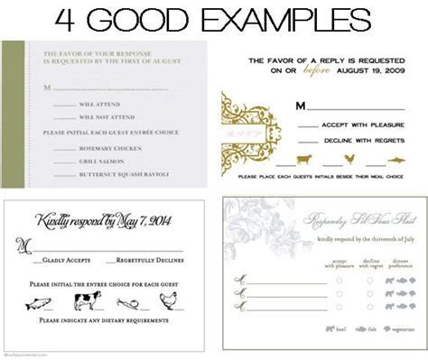 DOs & DONTs: Place Cards & Meal Choices   Weddings 101