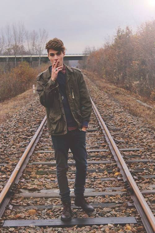 Moda Hipster Outfits para Guys (7)