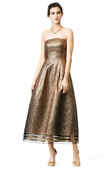 What to Wear to a Fall 2015 Wedding!   Gold dress from