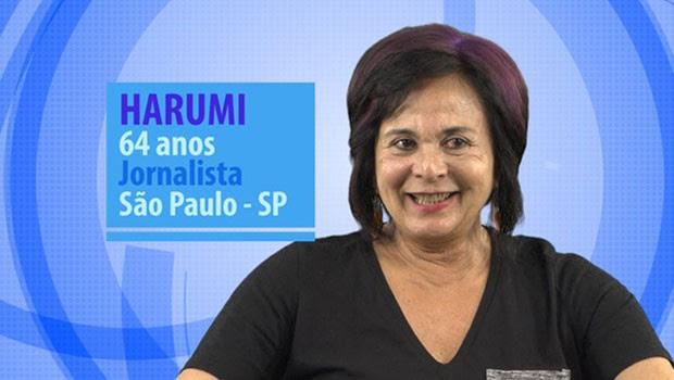 Harumi é uma das novas participantes do BBB (Foto: Divulgação/Globo)