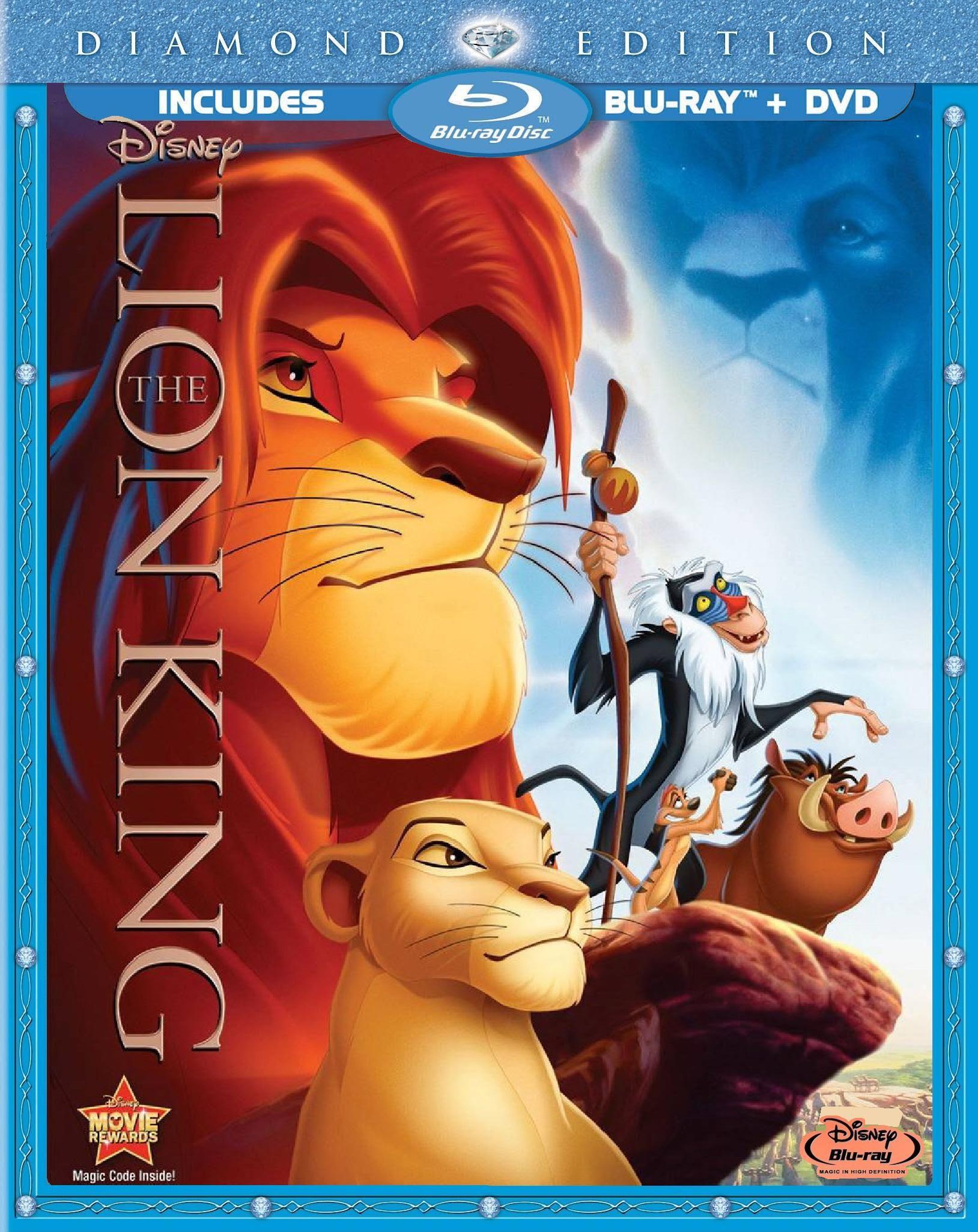 Image result for lion king dvd