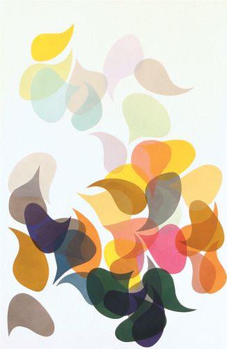 "Laura Berman ""Umbrahome DL12"", 57""x37"", Relief Monoprint, 2011"