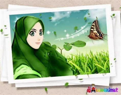 kumpulan gambar kartun muslimah gambar kartun muslimah