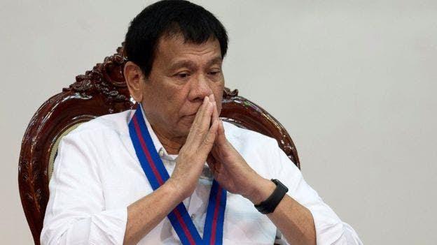 El presidente Duterte llegó al poder con la promesa de acabar con el crimen y las drogas