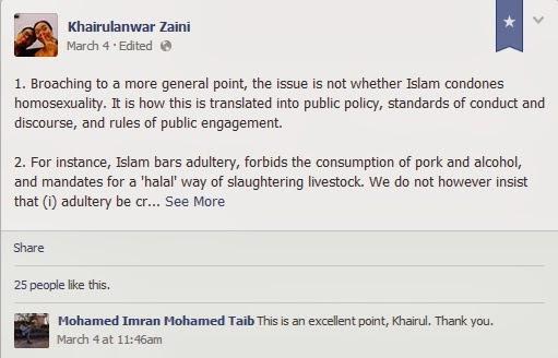 Fwd: [IslamIQ sg] Liberal Islam in Singapore - The Reading