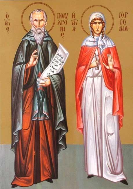 IMG ST. POLYCHRONIUS, Hermit