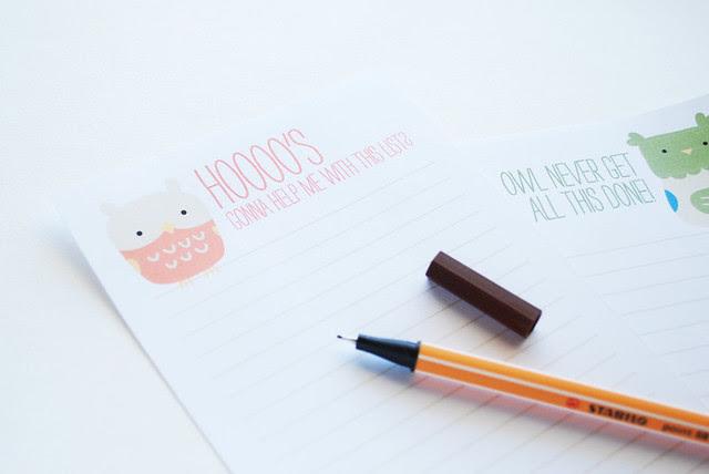 Little Owls Lists