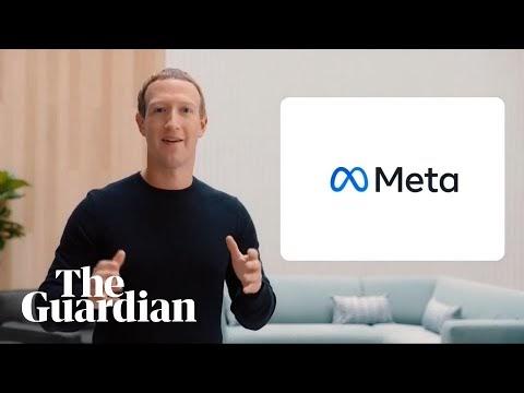 Meta: Mark Zuckerberg announces Facebook's new name