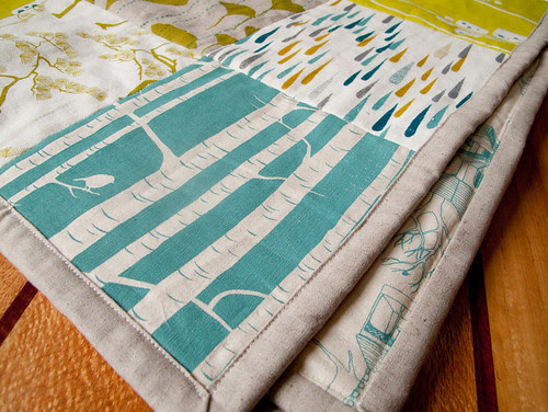 finishished quilt