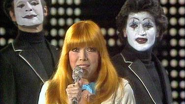 Katja Ebstein beim Grand Prix d'Eurovision 1980
