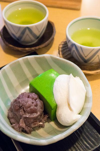 Kantaro Sweet Tooth Salaryman Bavarian Matcha Cream Kinozen