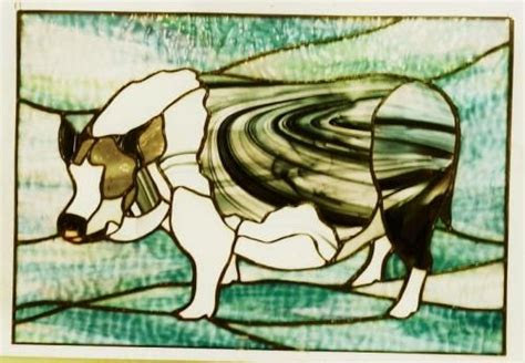 images  animals stained glass  pinterest