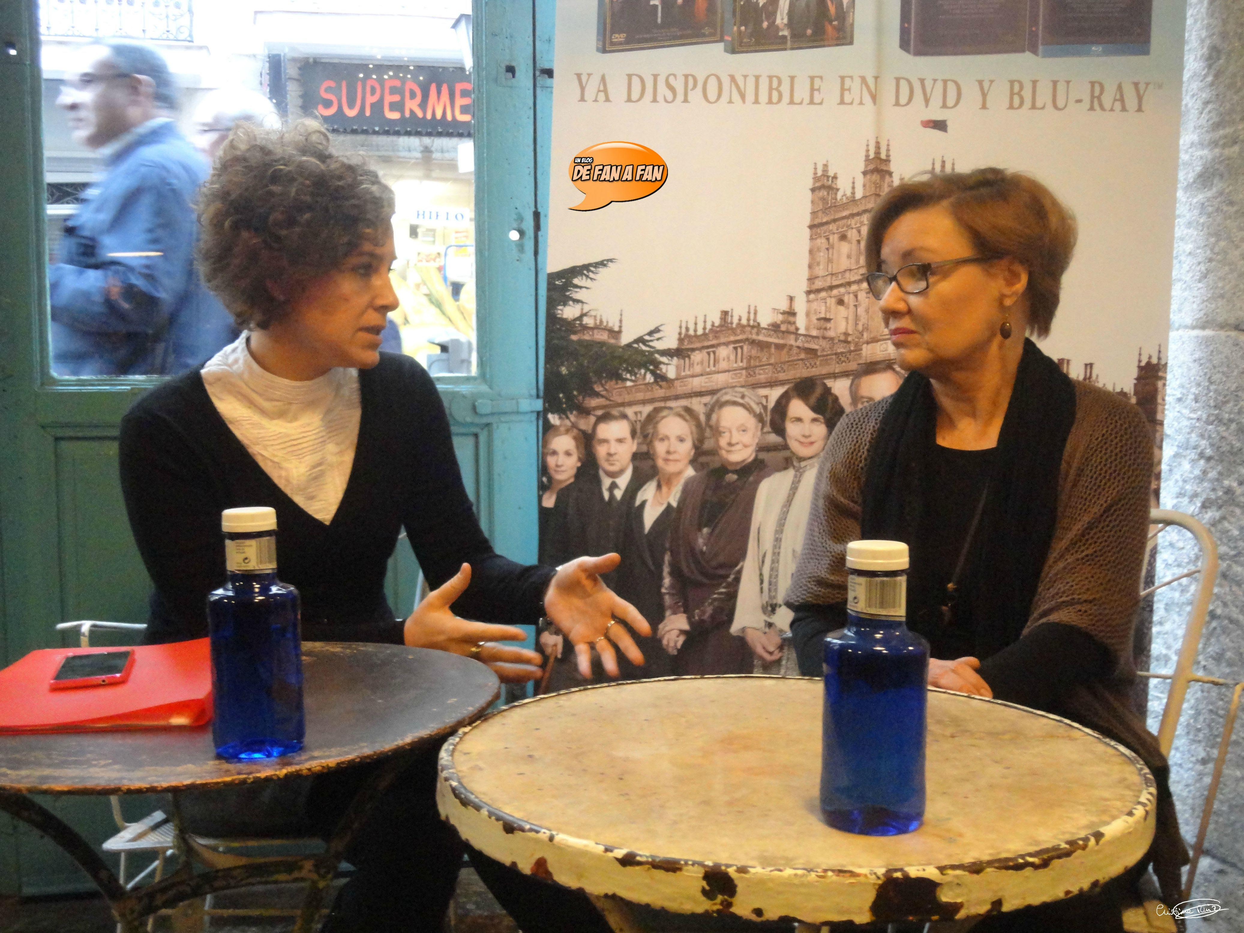 Diana Fernández y María Ortega Cornejo
