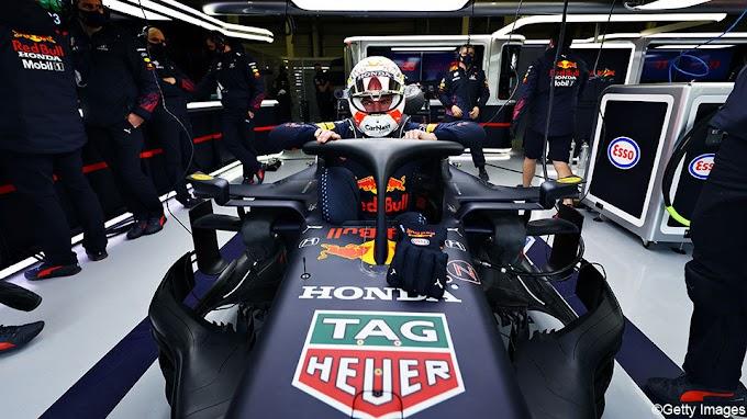 Verstappen en Perez proeven voor het eerst van de nieuwe RB16B