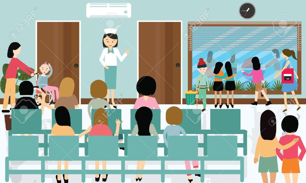 Resultado de imagem para foto de paciente na fila do hospital