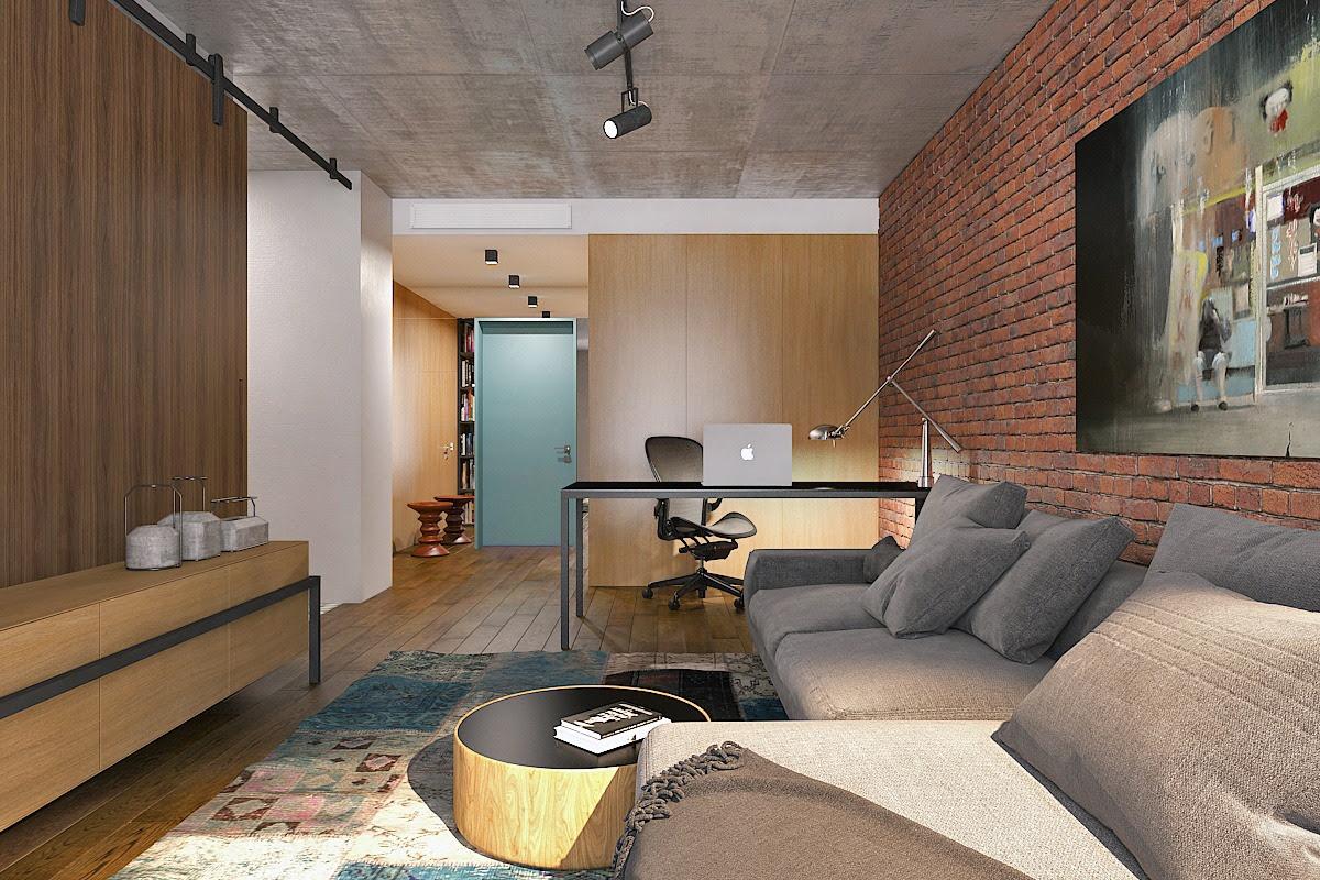 Studio Apartment by Transition Interior Design ...