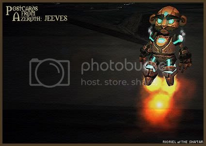 Postcards of Azeroth: Jeeves, by Rioriel Ail'thera